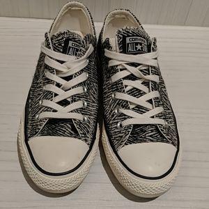 Like new Converse Zebra Print shoes